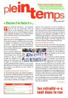 Plein Temps - octobre 2017 -
