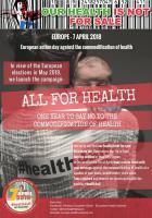 Le PCF partie prenante de la journée européenne d'action pour la santé du 7 avril