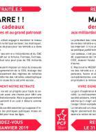 Tract d'appel aux retraités pour la manifestation du 31 janvier