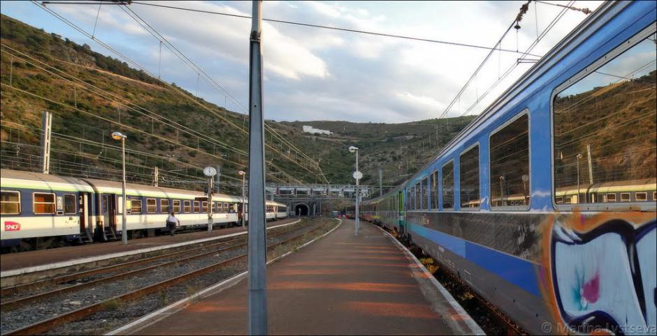 Réunion d'urgence pour le train à Cerbère