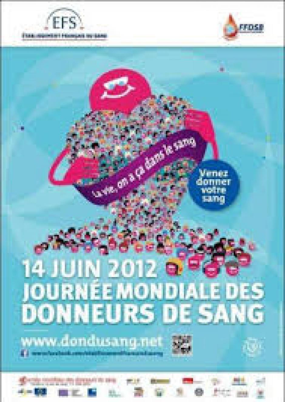 14 juin journée mondiale des donneurs de sang, la reconnaissance par l'OMS du modèle éthique du système transfusionnel français