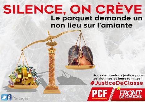 Déni de justice pour les victimes de l'amiante!